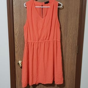 Coral Colored Forever 21 Dress